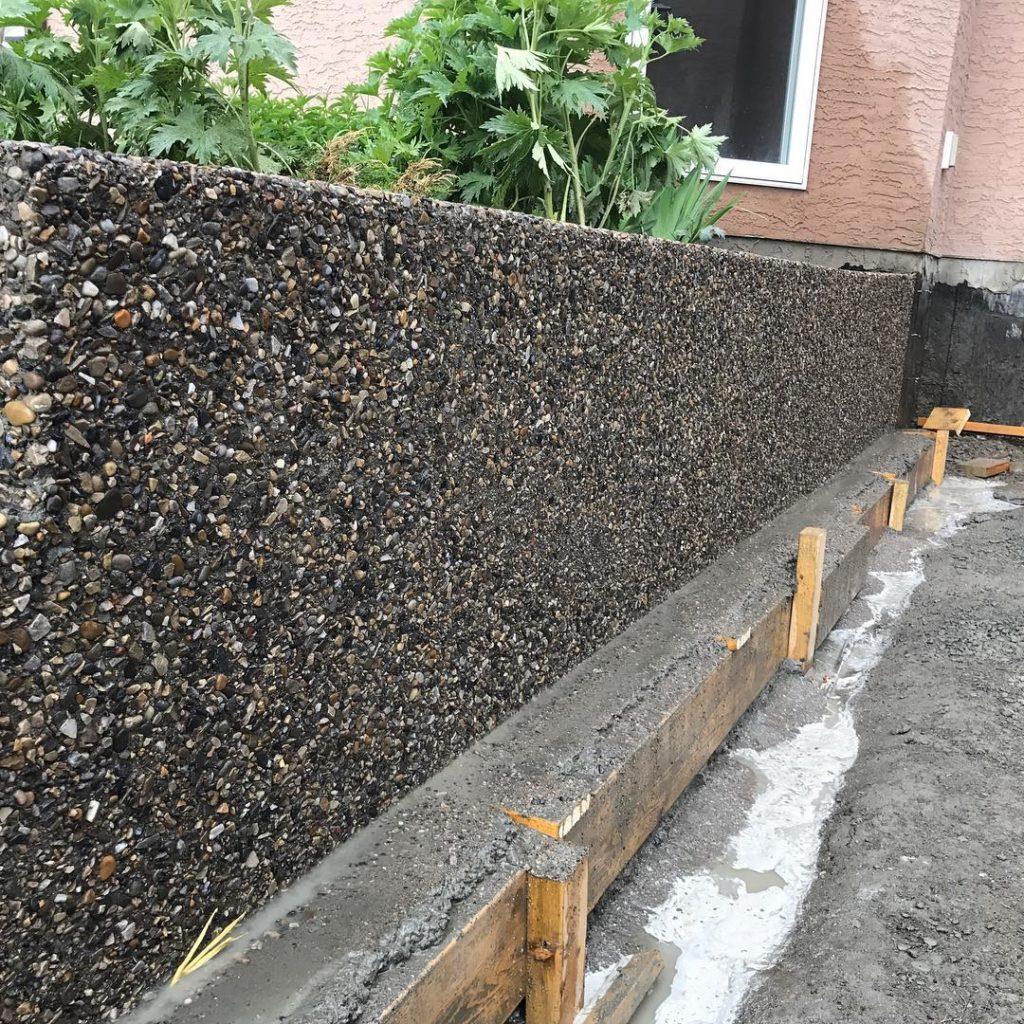 exposed-concrete-retaining-wall